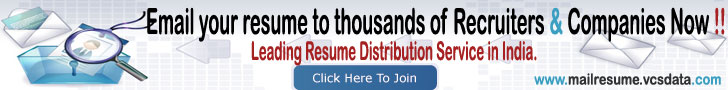 Resume Distribution Service - Email Resume Now !